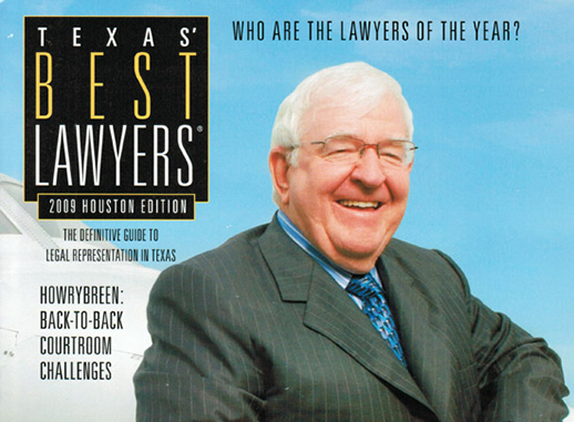 Mike Gallagher Texas Best Lawyer 2009 Houston Law Firm